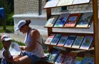 Читальный зал под открытым небом в Каменниках