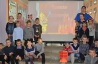 «Пожарный ликбез» в Каменниковском центре досуга
