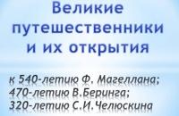 Знаменитые путешественники – Каменниковский ЦД